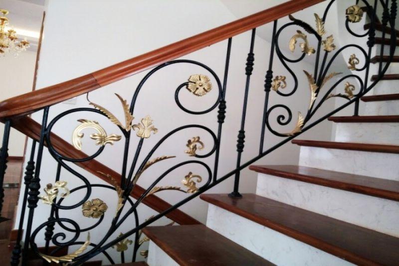Lan can cầu thang sắt, cổng sắt, cửa sắt, cửa inox, cầu thang inox, lan can inox tại Phú Quốc, Rạch Giá, Kiên Giang